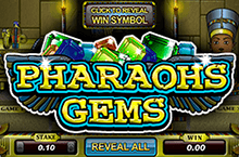 лотерея pharaohs gems онлайн